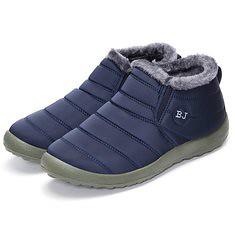 Men Winter Cotton Shoes Fur Lining Keep Warm Casual Outdoor Snow Boots (1099509) #Banggood (SuperDeals.BG) Tags: superdeals banggood bags shoes men winter cotton fur lining keep warm casual outdoor snow boots 1099509