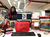 The World is Her Desktop... and This is the World's Best Desktop (Mayank Austen Soofi) Tags: office job the world is her desktop this world's best