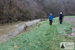 Wandern im Siebenbachtal, neben dem Üßbach