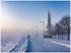 2018-01-23 SPb, Finland gulf, frost 202 (Mandir Prem) Tags: outdoor places stpetersburg brige city colour finlandgulf frost frozen horizon ice landscape nature postcard russia saintpetersburg snow sunset travel tree winter