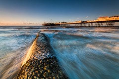 Brighton Palace Pier (E_W_Photo) Tags: brighton palacepier pier sussex uk sea seafront breakwater wave canon 80d sigma 1020mm lee leefilters