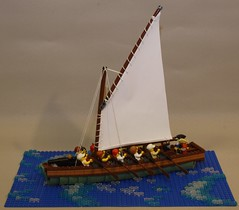 Gun Sloop No. 2 (Beorthan) Tags: corrington bobs gunboat lego eurobricks