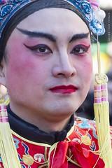 Fierceness (Jean Ka) Tags: nouvelanchinois chinesichesneujahr chinesenewyear homme mann man gesicht face visage augen yeux eyes portrait maquillage schminke makeup paris france frankreich