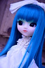 Aqua | Pullip Prunella (·Kumo~Milk·^^) Tags: pullip prunella aqua rewigged wig rechipped eyechips eyelashes doll gloss obitsu junplanning groove
