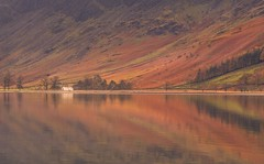 Buttermere (Captain Nikon) Tags: buttermere thelakes thelakedistrictnationalpark lakedistrict cumbria england landscapephotography landscapes uk greatbritain nikon cottage reflections autumn fells