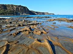 Shack Bay (Victoria) (IDH Mackinnon) Tags: shack bay victoria victorian australia australian aussie 2013 beach coast coastline rocks rockpool ocean sea waves water cliff wonthaggi inverloch gippsland