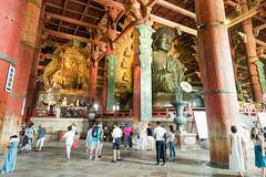 Daibutsu-Den Tōdai-ji Nara Japan (geolis06) Tags: geolis06 asia asie japan japon 日本 2017 nara olympuspenf olympusm918mmf4056 patrimoinemondial unesco unescoworldheritage unescosite zen bouddhiste bouddhistme jardin garden daibutsuden 大仏殿 tōdaiji 東大寺 daibutsu vairocana
