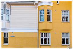 Untitled 00.65 (ViTaRu) Tags: canon 6d 1635mmf28l facade wall building windows yellow symmetry pattern architecture wood concrete boards shapes house varsinaissuomi turku finland