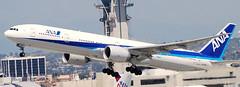 Boeing 777-381 JA783A (707-348C) Tags: losangeles thehill lax airliner jetliner boeing boeing777 b77w b773 triple allnipponairways allnippon ana ja783a california passenger klax