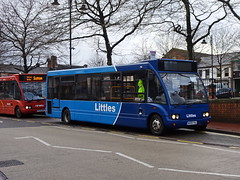 Littles W409YAL Ripley (Guy Arab UF) Tags: littles travel w409yal optare solo m920 bus ripley market place derbyshire independents buses trent barton 409