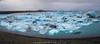 Jökulsárlón (Mike Ver Sprill - Milky Way Mike) Tags: jökulsárlón jokulsarlon d810 panorama landscape nature travel blue glacier lagoon iceburg iceberg ice icy pano south iceland icelandic