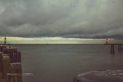 Warnemünde (sk.photo - photography by stephan kurzke) Tags: ostsee baltic sea see meer wasser ocean water ship hafen schiff harbor wellen waves stormy stürmisch wolkig clouds wolken skphoto skphotoef wwwskphotoeu