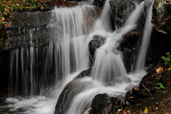Lower Amicalola Falls (stone turtle images) Tags: georgia amicalolafalls approachtrail appalachian trail park hiking backpacking silky smooth water effects