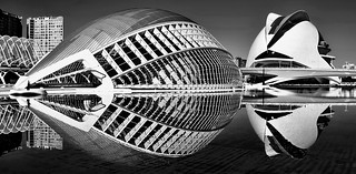 Valencia's futuristic ambience