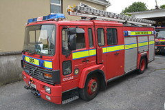 Galway County Fire Service 1994 Volvo FL6 14 Excalibur WrL 94G7179 (Ex Oxfordshire M661 TUL) (Shane Casey CK25) Tags: galway county fire service 1994 volvo fl6 14 excalibur wrl 94g7179 water rescue ladder red truck lorry pump m661 tul m661tul ex oxfordshire tender appliance engine fireengine crew man men office fighter blue light flashing flash siren sirens emergency brigade fbs society firebrigade fireman firefighter firemen firestation firebrigadesociety station athenry incident retained