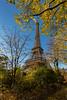 Tour en automne. Paris, nov 2017 (Bernard Pichon) Tags: paris îledefrance france fr bpi760 eiffel tour tower automne fr75 hdr architecture