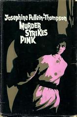 Murder Strikes Pink (54mge) Tags: book dustjacket crime novel barbarawalton