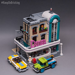 10260 (KEEP_ON_BRICKING) Tags: lego 10260 downtown diner building experience built done ready modular 2018 keeponbricking set legoset afol rlfm