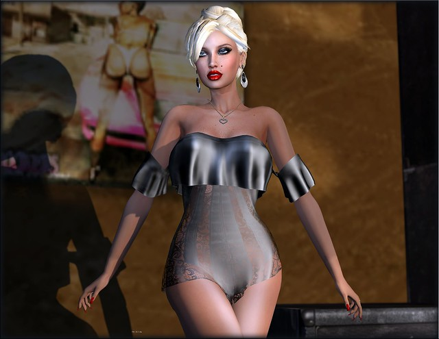 LiES Grace Lingerie and A&A Chloe Hair All Colors