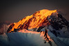 Mont Orange (nic_r) Tags: mountain mountains montblanc sunset orange snow rock alp alps alpine france lesarcs nikon d500