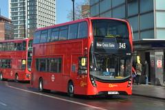 YY67 URT (EH189) Go-Ahead London Central (hotspur_star) Tags: londontransport londonbuses londonbus londonbuses2018 alexanderdennisltd enviro400hmmc tfl transportforlondon hybridbus hybridtechnology busscene2018 doubledeck goaheadlondoncentral yy67urt eh189 343
