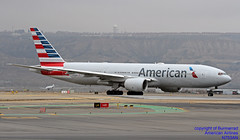 N753AN LEMD 10-01-2018 (Burmarrad (Mark) Camenzuli Thank you for the 10.3) Tags: airline american airlines aircraft boeing 777223er registration n753an cn 30261