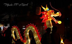 392. CNY 2018: Dragon Lantern (Meili-PP Hua 2) Tags: chinesenewyear chinesenewyeardog2018 festival lanterns night nightphotography light lanternfestival dragons animallanterns glow