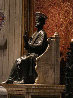 St Peter in St Peter's Basilica