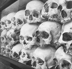 The Innocents (ORIONSM) Tags: killing fields khmer rouge murder genocide cambodia asia skulls choeungek