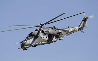 Flypast Czech Mil Mi-35
