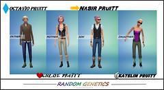 PRUITT FAMILY--RANDOM-GENETICS2 (neeky_b) Tags: random genetics family