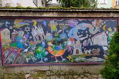 XE3F7275 (Enrique R G) Tags: sinagoga vieja stara synagoga old synagogue kazimierz cracovia cracow krakow poland polonia fujixe3 fujinon1024 arte urbano steet art