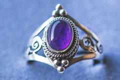 My favorite ring (WillemijnB) Tags: ring jewel jewelry amethist amethiste amethyst purple lilac 7dwf