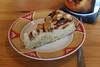Veganer Apfel-Marzipan-Kuchen (mein 1. Stück) (multipel_bleiben) Tags: essen vegetarisch vegan obst apfel marzipan kuchen nüsse zugastbeifreunden