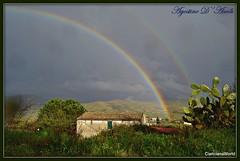 Un raggio di sole in un giorno di pioggia - gennaio-2018 (agostinodascoli) Tags: texture nature cianciana sicilia nikon nikkor arcobaleni casa paesaggi agostinodascoli alberi
