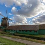 "Old Dutch windmill ""De Schoolmeester"""