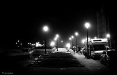 Night training (galavardo) Tags: fujifilm x100f blancoynegro blackandwhite byn noche night gijón asturias españa spain