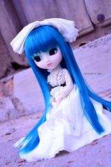 Precious Princess | Pullip Prunella (·Kumo~Milk·^^) Tags: pullip prunella aqua rewigged wig rechipped eyechips eyelashes gloss obitsu doll junplanning groove stock stockoutfit