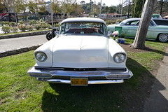 Chevrolet Custom (bballchico) Tags: carshow chevrolet custom grandnationalroadstershow saturdaydrivein trifive