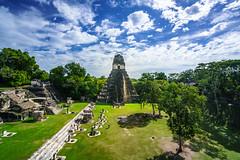 The Great Plaza of Tikal (DSC6330) (DJOBurton) Tags: guatemala maya tika greatplaza peten