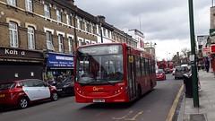 Go-Ahead London General SEN43 YX09FMV | 315 to Streatham, St Leonard's Church (Unorm001) Tags: sen43 sen 43 yx09fmv yx09 fmv 315 red london single deck decks decker deckers buses bus routes route diesel dms44420 dms 44420