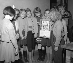 1952Gustav Adolfs skola (theirhistory) Tags: girls children school class kids boys picture portrait jumper skirt wellies wellingtons