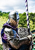 Going medieval on you (Jersey JJ) Tags: going medieval jousting mounted knight armor helmet lance lucis on1 old tyme security j2