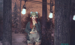 Look 307 - The Best Time of The Day (KittyVonCat and Helena Jansma) Tags: kittyvoncat {song} clawtooth helenajasnma blog blogger epiphany kustom9