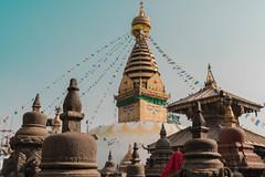 Swoyambutha Temple, Kathmandu, Nepal (Sajivrochergurung) Tags: religion nepal kathmandu temple buddhist