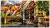 Nürnberg Altstadt - etwas in Photoshop bearbeitet (J.Weyerhäuser) Tags: nürnberg altstadt pegnitz gemälde photoshop topaz impression