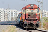 KZJ ALCO Baldie 14031 with Train 17203 (cyberdoctorind) Tags: ifttt 500px infrastructure railroad track freight train structural directional car shipment bergheim alco indian railways locomotives stations yards running ops dm3a kazipet diesel loco shed
