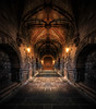 The Dungeon (Jacob Surland) Tags: architecture art building cathedral caughtinpixels chester chestercathedral city cloister colors country dungeon england fineart fineartphotography greatbrittain hdr house jacobsurland lamp light medieval oldhouse oldbuilding realismdigitalart uk warmcolors warmlight