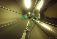 Time warp (gorgar671) Tags: auto cars tunnel bremerhaven wesertunnel time weser gopro handy handyfotografiert opel opelkadettb