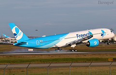 F-WZGX (@Eurospot) Tags: fwzgx fhrev airbus a350 a350900 toulouse blagnac frenchbee frenchblue